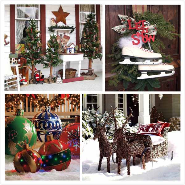 top outdoor christmas decorations christmas celebration. Black Bedroom Furniture Sets. Home Design Ideas