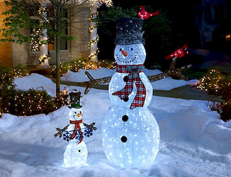 Christmas House Outdoor Decorations - Top Outdoor Christmas Decorations - Christmas Celebration - All