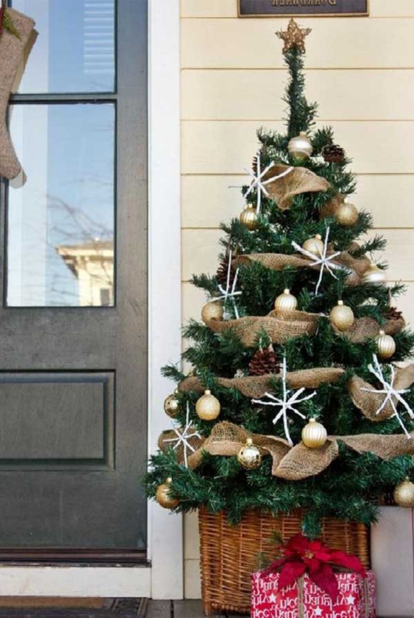 outdoor christmas tree decorations - Christmas Decorating Ideas For Outdoor Trees