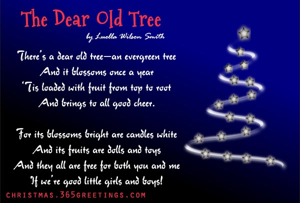 trees poem meaning