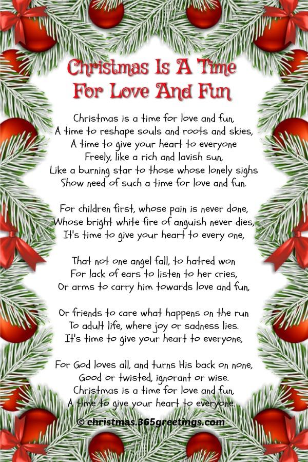 short-christmas-poems-picture - Christmas Celebration ...