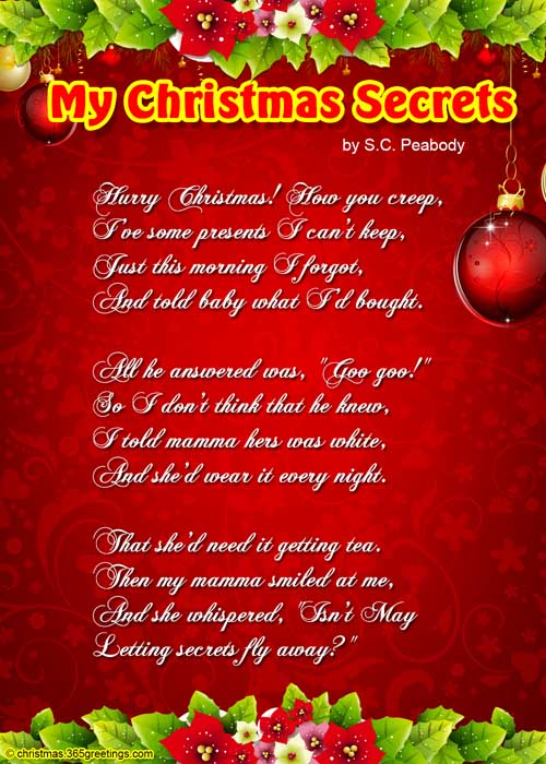 short-christmas-poems