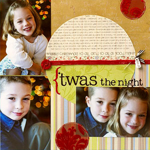 Use Your Imagination and Get Creative. Photo Credit: www.scrapbooksetc.com
