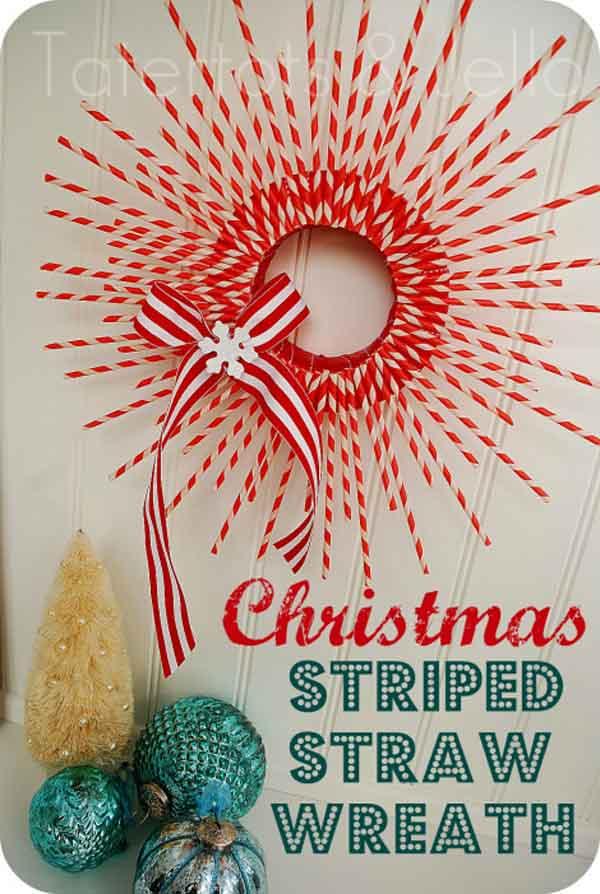 striped-paper-straw-wreath
