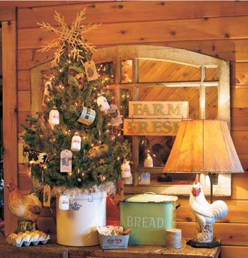 Country Kitchen Christmas Decorations: Christmas Tree Decorations 2018