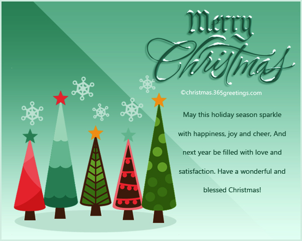 Christmas Card Messages Christmas Celebration All