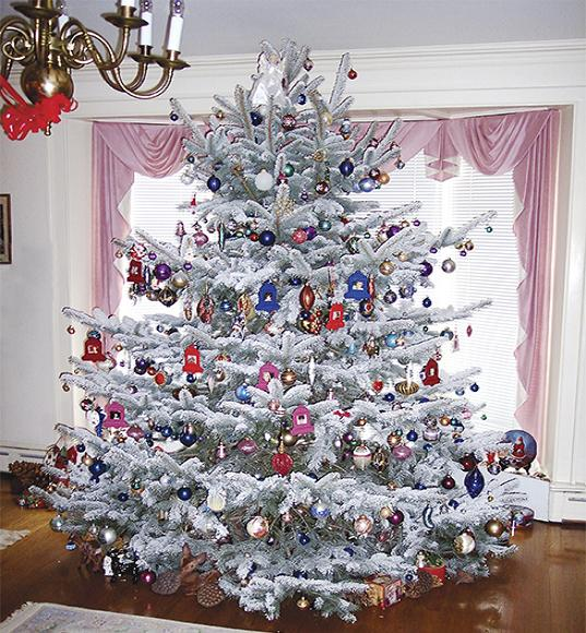 white christmas tree decorating ideas - Christmas Decoration Ideas 2016