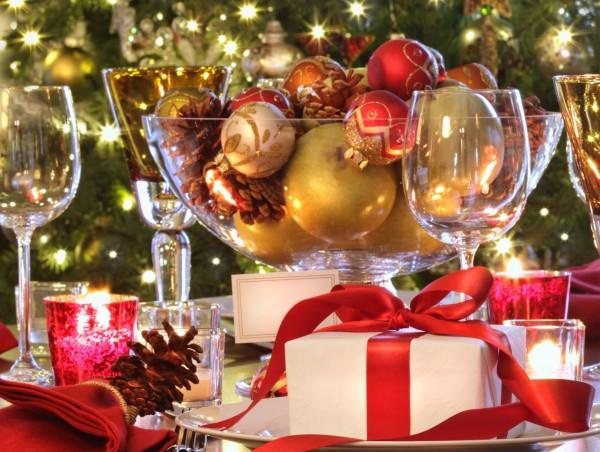 christmas dinner table decoration ideas - Christmas Dinner Table Decorations