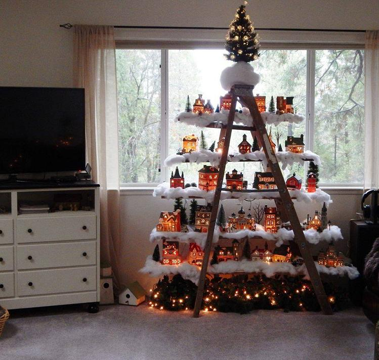 christmas ladder deco - Christmas Ladder Decor
