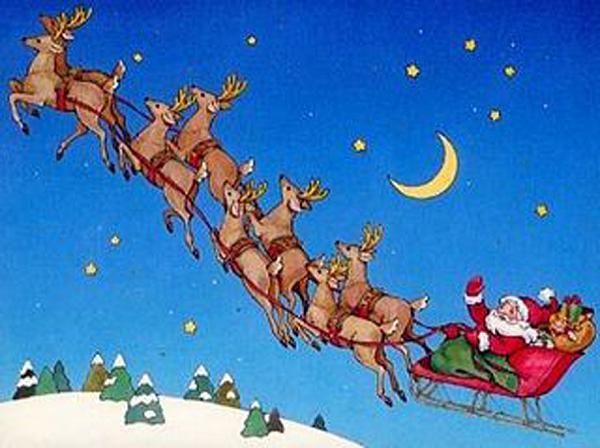 Santa-Clauss-sleigh