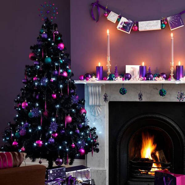 christmas decorations fireplace - How To Decorate A Fireplace For Christmas