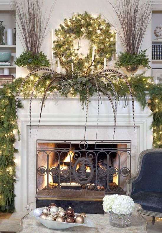 50 Most Beautiful Christmas Fireplace Decorating Ideas Christmas