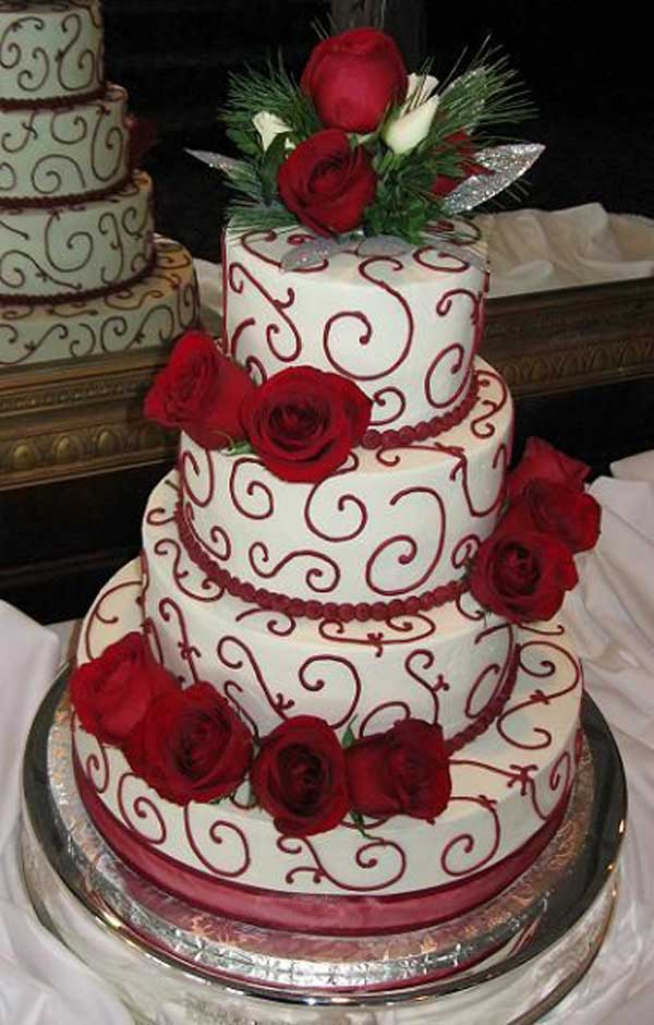 christmas-wedding-cake-ideas