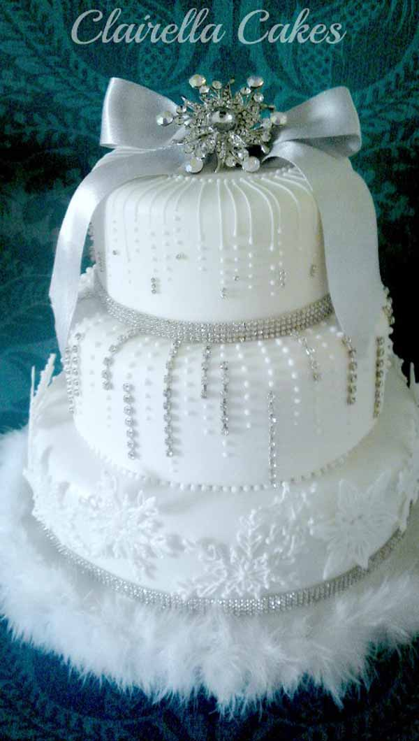 christmas-wedding-cake
