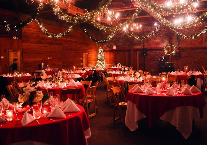christmas wedding lighting ideas - Christmas Wedding Decorations Ideas
