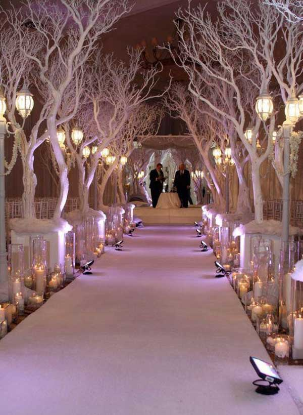 christmas wedding reception decoration - Christmas Wedding Decorations Ideas