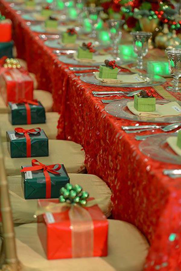 wedding reception ideas - Christmas Wedding Decorations Ideas