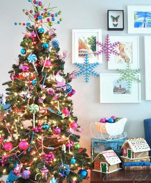 Colorful Christmas Tree Images.Colorful Christmas Tree Christmas Celebration All About