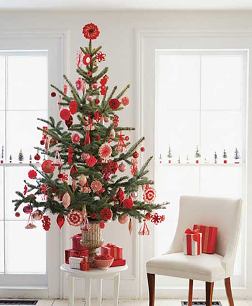 Cute christmas tree ideas christmas celebrations for Xmas tree decoration ideas