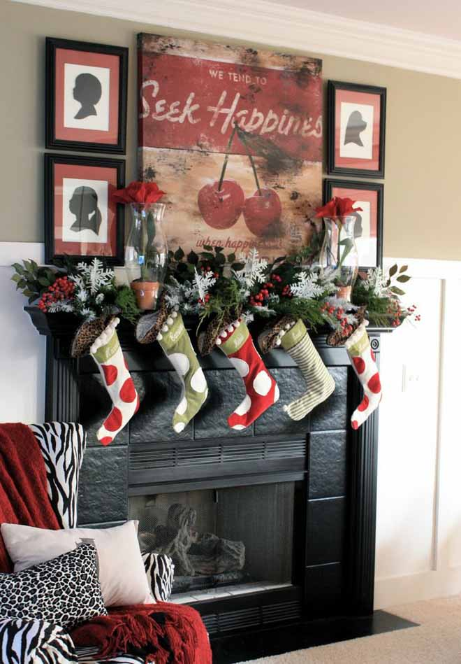 fireplace-christmas-decorations-ideas