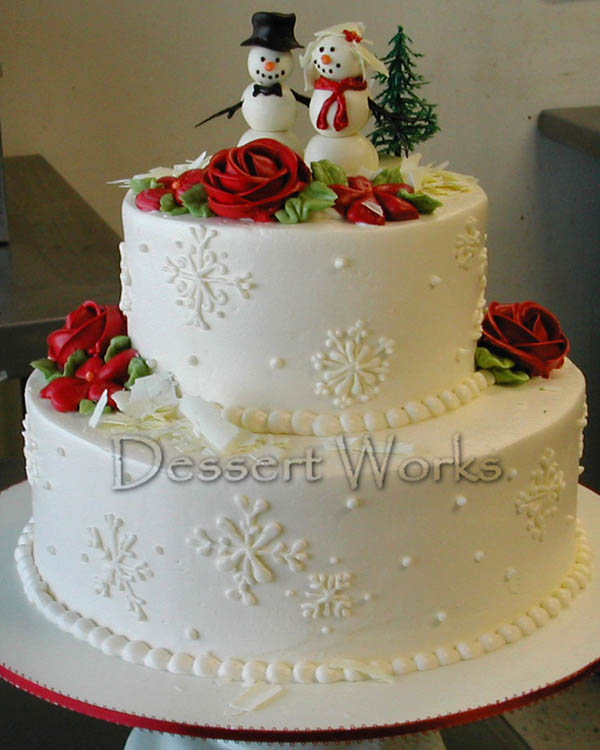 ideas-about-christmas-wedding-cake