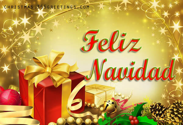 merry christmas in spanish