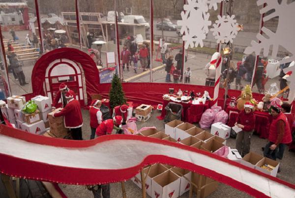 Track Santa 2013 Day Four - Christmas Celebration