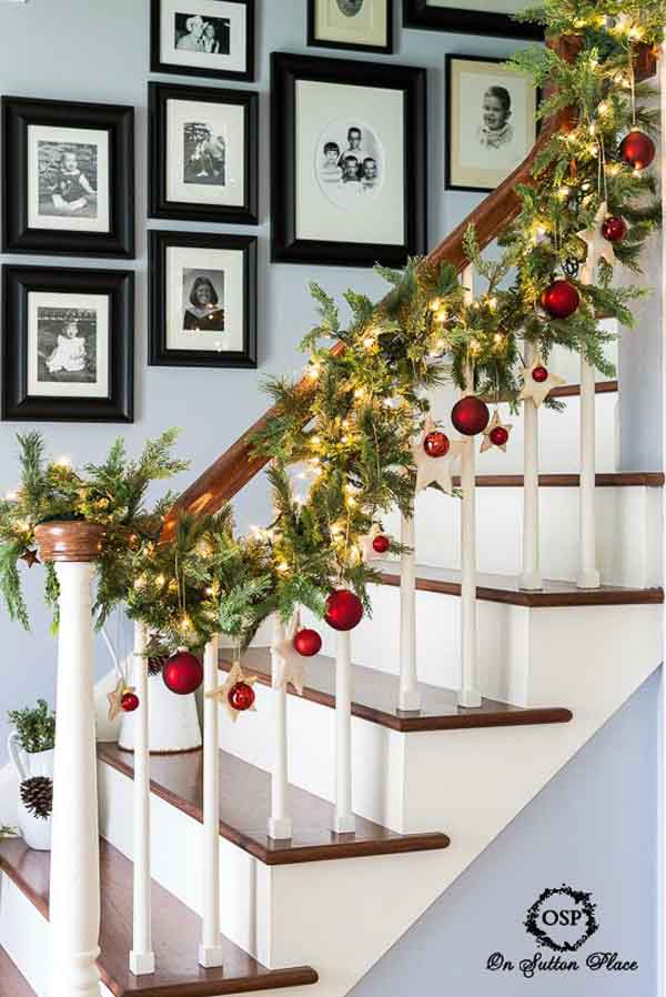 Simple Christmas Garland Decoration