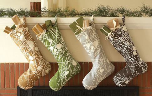 Presentation Of The Christmas Stocking Is Also Key Go For Other Than Red And White Colors A More Modern Look
