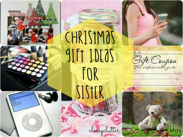 Christmas Gift Ideas for Sister main