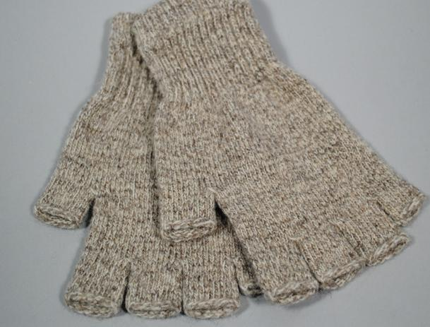 wool fingerless glove