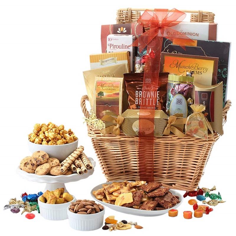 Corporate Christmas Gift Basket