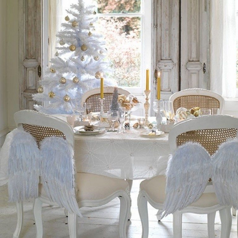 white christmas decorations - Christmas Decorations 2017