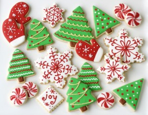 Christmas Themed Food. Photo Credit: www.glorioustreats.com