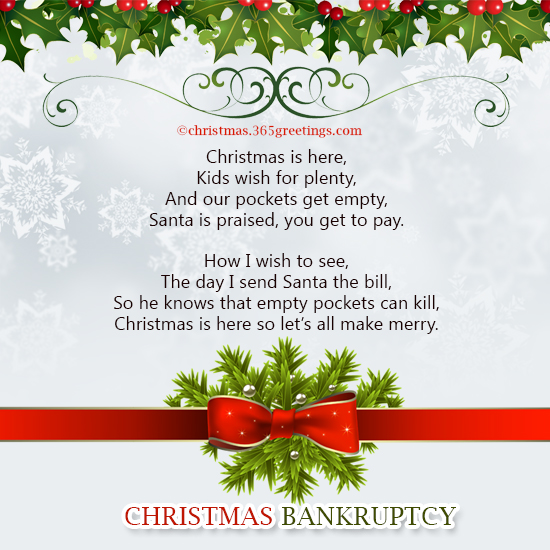 Funny Christmas Poems - Christmas