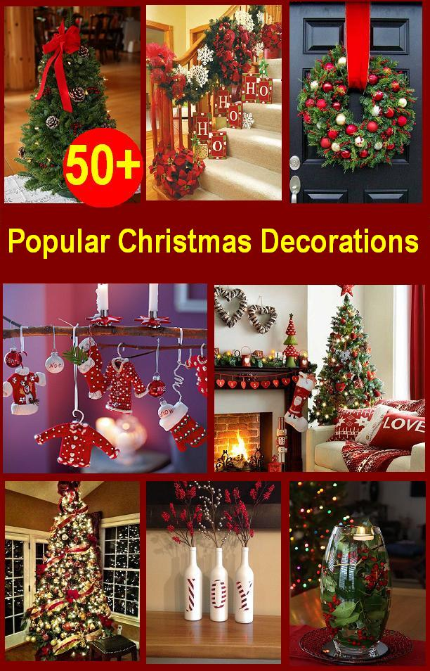 top christmas decorations 2018 christmas celebration. Black Bedroom Furniture Sets. Home Design Ideas