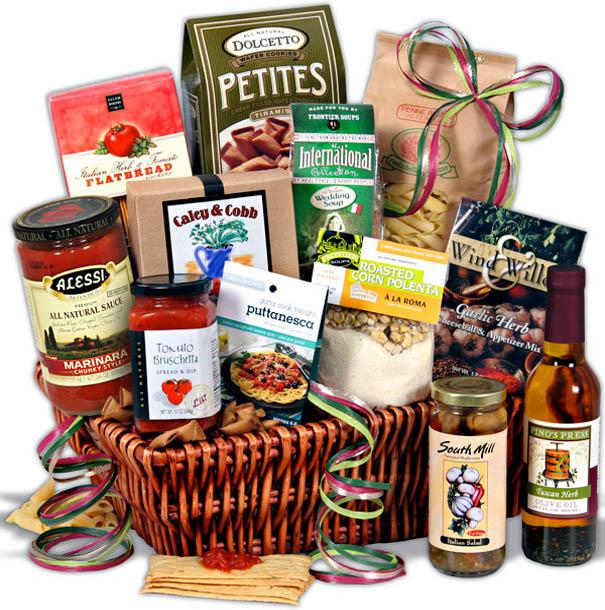 christmas grocery gift basket