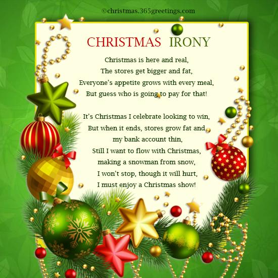 Funny Christmas Poems - Christmas Celebration - All about Christmas