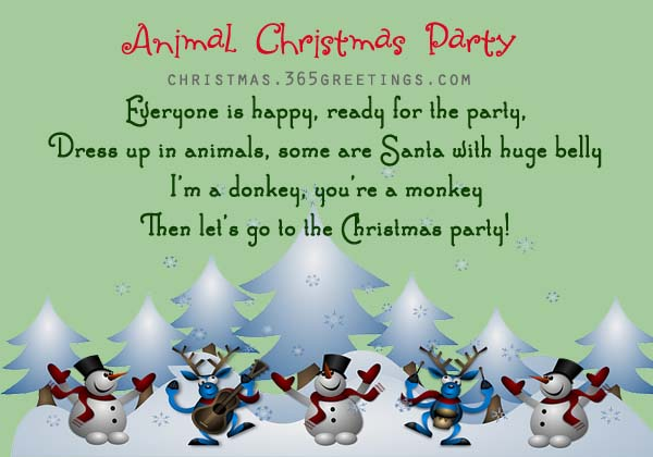 Funny Christmas Poems - Christmas Celebration - All about ...