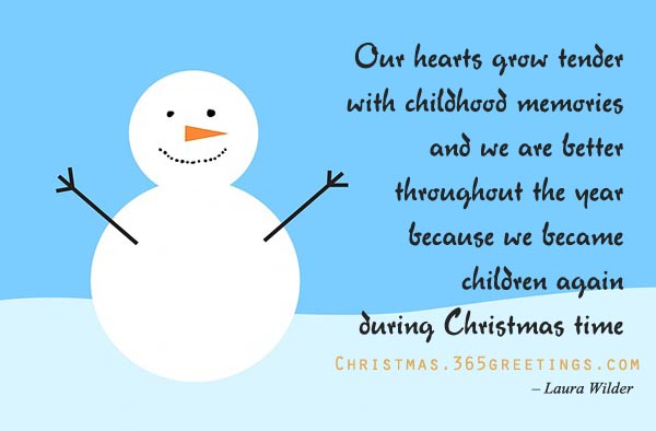 christmas quotes for kids - Short Christmas Sayings For Cards