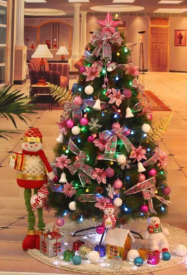 christmas tree decorating ideas - Under Christmas Tree Decorations