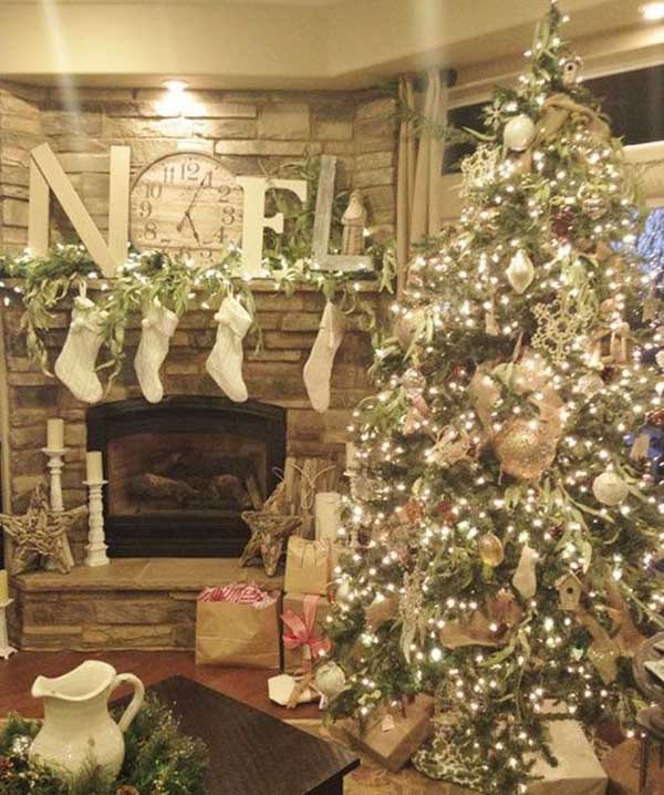 Top christmas decorations 2018 christmas celebration for Beautiful homes decorated for christmas