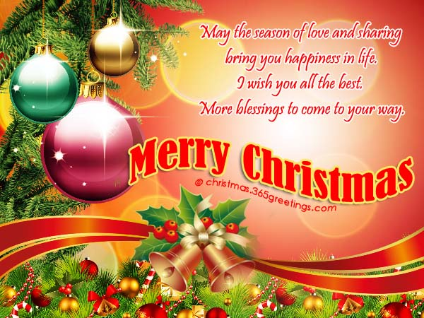 Merry Christmas Wishes and Messages - Christmas Celebration - All ...