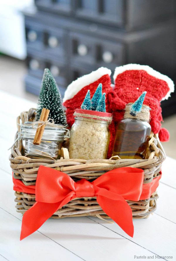 Top christmas hamper ideas christmas celebration all about christmas diy spa gift hamper solutioingenieria Image collections