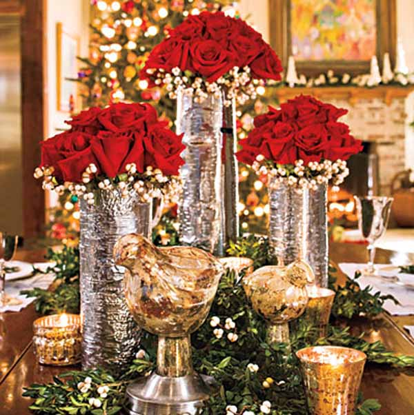 elegant christmas centerpiece decoration - Christmas Centerpiece Decorations