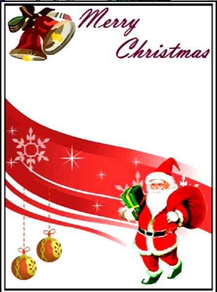 Printable Christmas Cards - Christmas Celebrations