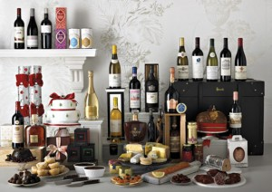 Bottle of Wine can be included in Christmas Food Hampers. Photo Credit: http://www.justluxe.com