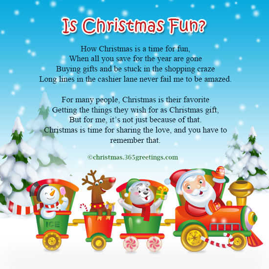 Funny Christmas Poems - Christmas Celebrations