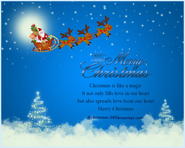 Christmas greetings christmas celebration all about christmas christmas is like a magic it not only fills love in our heart but also spreads love from our heart merry christmas m4hsunfo