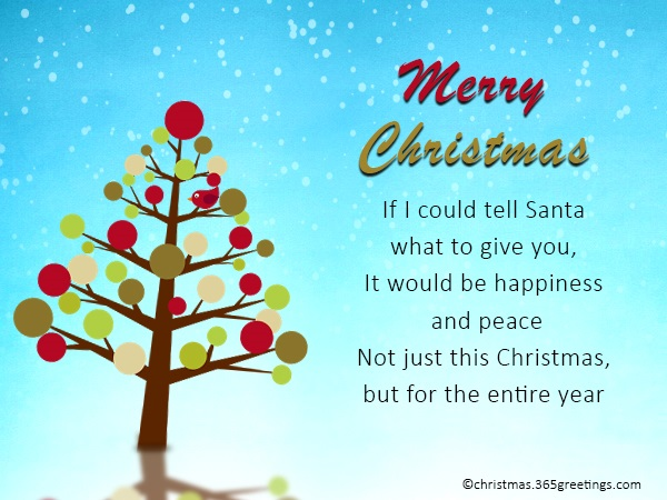 short-christmas-messages
